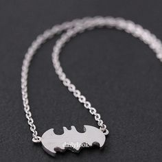 batman necklace ($9.99) ❤ liked on Polyvore featuring jewelry, necklaces, accessories, 28. necklaces., collares, collar jewelry, evening jewelry, special occasion jewelry, collar necklace and bubble jewelry