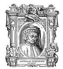 Jacopo di Landino, detto anche Jacopo da Pratovecchio, ma più noto come Jacopo del Casentino (Pratovecchio, 1297 circa – 1349 circa), è stato un pittore e miniatore italiano, attivo in Toscana, principalmente a Firenze, tra il 1339 e la metà del secolo.