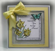 Daffodils by pat33 - Cards and Paper Crafts at Splitcoaststampers