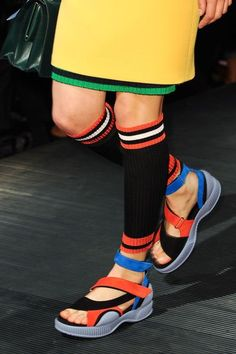 Chaussures Prada printemps-été 2014.