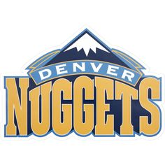 Applied Icon NBA Denver Nuggets Outdoor Logo Graphic- Large, Yellow