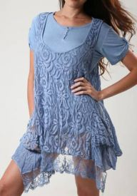 Chic Knit Lace Top
