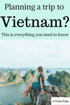 Planning a trip to Vietnam? This is everything you need to know / Vietnam travel tips and inspiration for your next trip to Vietnam / Halong Bay / Ninh Binh / Sapa Vietnam / Things to do in Vietnam / Planning a trip to Vietnam / Food in Vietnam / Vietnam Cool Places To Visit, Places To Travel, Travel Destinations, Vietnam Destinations, Vietnam Travel Guide, Asia Travel, Traveling Europe, France Travel, Hawaii Travel