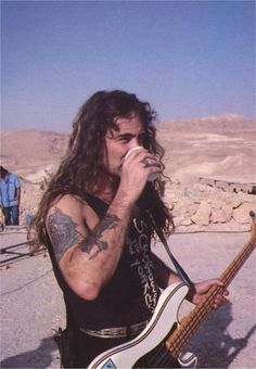 Steve Harris of Iron Maiden.  Only one of the world's best bass players!