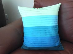 Home Decor: Pleated Pillow