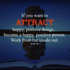 Attract happiness
