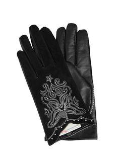 Odd Molly Handsker 717M-939 Glow Glove - almost black