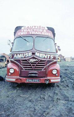 1965 Foden Vintage Trucks, Old Trucks, Fun Fair, Big Wheel, New Career, Commercial Vehicle, Classic Trucks, Trailers, Transportation