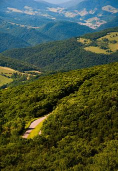 Take me home, country roads...View east from Spruce Knob, West Virginia. - 12x18 Fine Art Print (Other Sizes Available). $30.00, via Etsy.