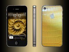 FL Luxury Product iPhone 4 alligator natural beige