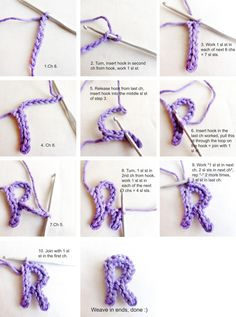 Free Alphabets to Crochet | How-To: Crochet Letters