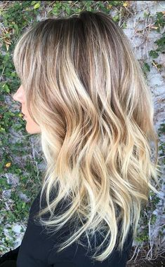 want this hair color now - champagne bronde sombre