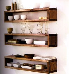 <3 these - the enclosed shelving acts like a picture frame fro more special items and the tops are still functional - great!
