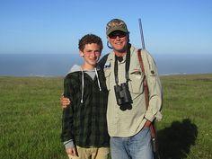 David and me hunting