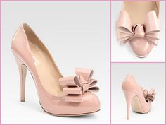 Valentino Bow Pumps   So here is another view of the Valentino's i pinned a few days ago! ~ I Love These!!!!!!