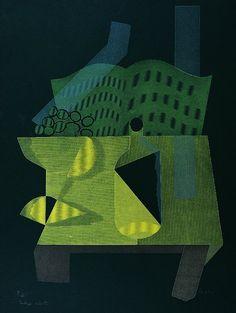 Bodegón cubista, 1981 - Serigrafía