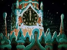Мультфильм «Новогодняя ночь» про Деда Мороза и Лешего.