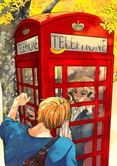 Hetalia - America / England (UsUk)