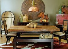 Modern Country Style: Modern Country Loves: Big Wall Clocks