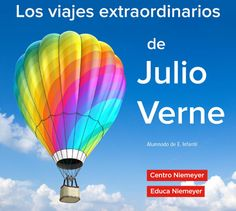 Educa Niemeyer. Julio Verne: infantil Portal, Jules Verne, Kid Books, Activities, Travel, Centre