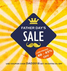 Enjoy our father's   day sale!!!