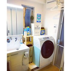 Bathroom/洗面所/インテリア/100均/DIY/脱衣所...などのインテリア実例 - 2018-03-10 06:52:11 | RoomClip (ルームクリップ)