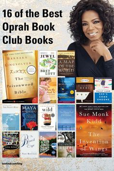 Check out this list of the all-time best book club books recommended by Oprah. #books #bookclub #oprah Best Book Club Books, Best Books To Read, Great Books, Anita Shreve, Pilot Wife, Toni Morrison, Historical Fiction, Oprah, Best Sellers
