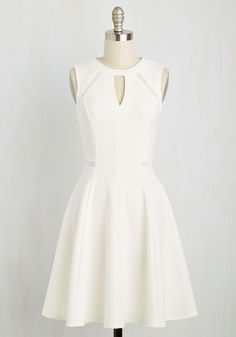 Moxie Must-Have Dress in White, @ModCloth