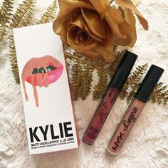 #kylie#nyx#cosmetics#lipstick