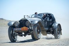 True Gents in an American La France Tourer from 1917. Participants of the Rally Peking-Paris 2013.  Copyright _DSC5380.jpg | Gerard Brown