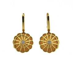 Carrera Y Carrera Aftodita 18K Gold Diamond Earrings Featured in our upcoming auction on September 13!