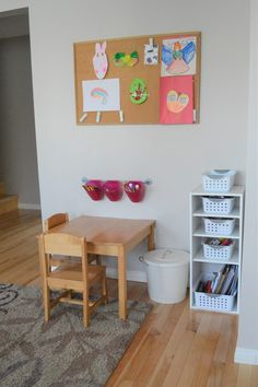Minimalist Playroom Tour: Creating a Simple, Playful Space - Simple Lionheart Life - Happy Simple Mom + Declutter Small Playroom, Playroom Storage, Playroom Design, Playroom Decor, Home Wall Decor, Cheap Playroom Ideas, Yellow Playroom, Bedroom Decor, Playroom Flooring