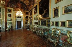 The Doria Pamphilj Gallery is a large art collection housed in the Palazzo Doria Pamphilj in Rome, Italy. It is situated between the Via del Corso and Via della Gatta. The principal entrance is on the Via del Corso (until recently the entrance to the gallery was from the Piazza del Collegio Romano). The palace facade on the Via del Corso is adjacent to the church of Santa Maria in Via Lata. Like the palace, it is still privately owned by the princely Roman family Doria Pamphilj.