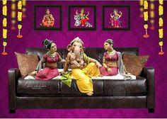Jai Ganesh, Shree Ganesh, Lord Ganesha, Ganesh Wallpaper, Radha Krishna Wallpaper, Krishna Art, Ganesh Photo, Ganpati Festival, Baby Ganesha
