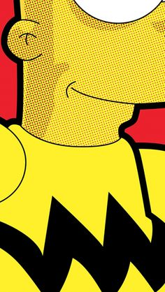The Simpsons comic characters. Tap to see more Cool Retro Style iPhone Wallpapers to make your phone feeling retro. - @mobile9