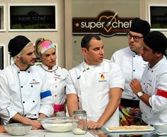 Chef Marco Renzzeti dá workshop sobre massa (Foto: Carolina Morgado/Gshow)