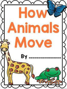 A cute, printable bundle to teach your students about how animals move! Includes a book, sorting worksheets, and colorful posters!