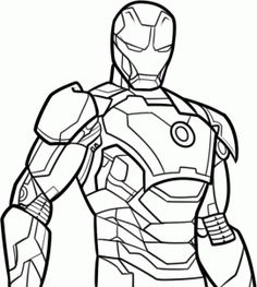 how to draw iron man 3 step by step marvel characters draw marvel