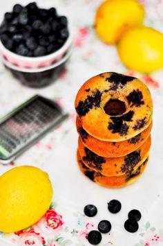 OBSESIÓN CUPCAKE - Donuts Fitness de Arándanos y Limón