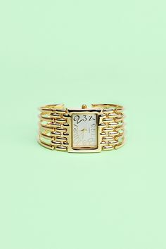 Caged Cuff Watch : possibly want this for Valentines <3
