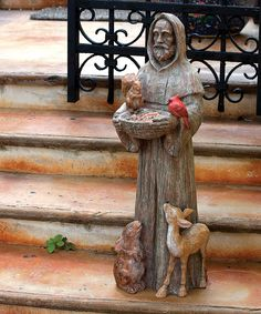 Look at this St. Francis & Friends Garden Statue on #zulily today!