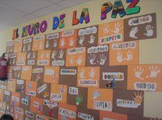 Hace ya unos días, con motivo del Día de la Paz , los peques del cole realizaron con sus manitas y con su trabajo este muro de la Paz. ¡ Son... Peace Crafts, Everyday Activities, Spanish Classroom, Family Day, Ideas Para, Make It Simple, Preschool, Arts And Crafts, Teaching