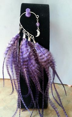 Beautiful Fantasy Feather Ear by WolfMountainJewelry on Etsy, $18.00