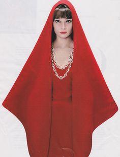 Striking!  (Audrey Hepburn by Richard Avedon, 1961)Harper's Bazaar February 2013