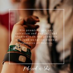 "That Sweet Honey of Obedience | ""God calls us to be totally obedient to Him and His ways."" 