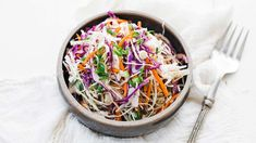Vinegar Based Coleslaw Recipe - Try this amazingly delicious and easy to make side dish for a Vinegar Based Coleslaw recipe at your next barbecue or backyard get together! If you are looking for a ridiculously Chick Fil A Coleslaw Recipe, Vinegar Based Coleslaw Recipe, Vinegar Coleslaw, New Recipes, Salad Recipes, Cooking Recipes, Favorite Recipes, Coleslaw Recipes, Veggie Dishes