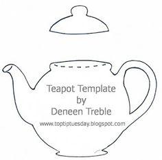 Top Tip Tuesday Teapot Card