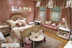FOTO DO INTERIOR DAS CRIANÇAS.  Viveiro interior suave para as meninas.  11 viveiros interior moderno.
