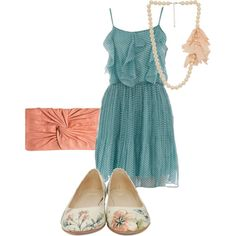 Just Discovered Polyvore.  Love it.  And I love my outfit I created.