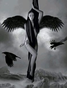 Dark fallen angel sexy angels gothic